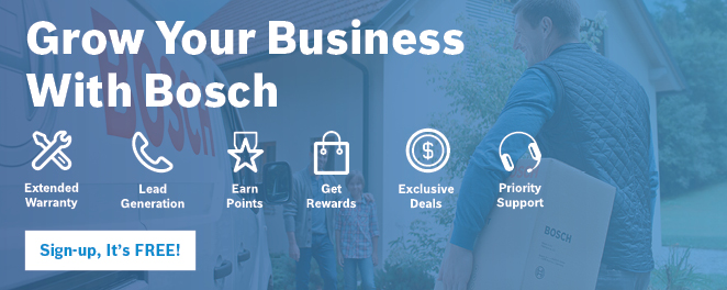 Bosch Thermotechnology Family of Products